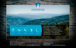 Webdesign av Tomtekompaniet