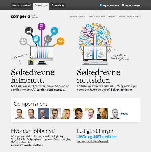 De nye norske nettsidene