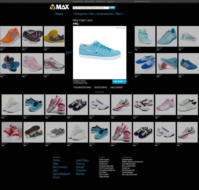 Gmax.no redesignet på en time