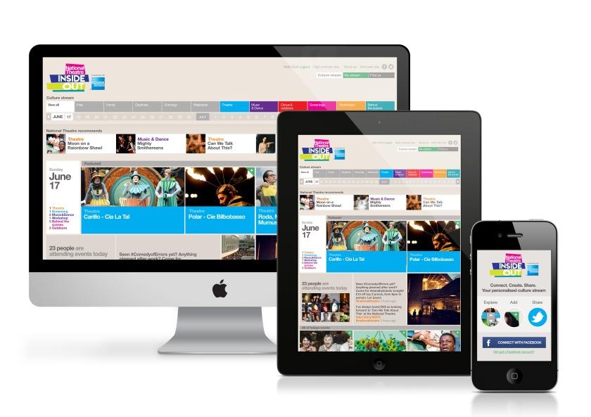 """Eksempel på en nettside som ikke bare viser """"liten versjon"""" på mobil"""