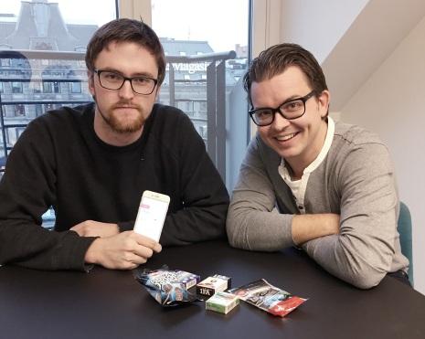 Gunnar Fornes og Johannes Hoff Holmedahl