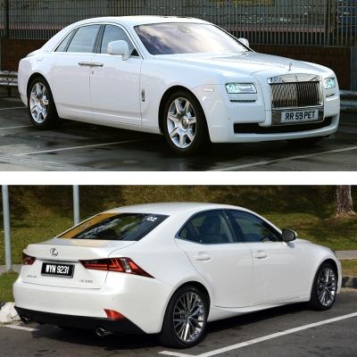 Rolls Royce vs Lexus