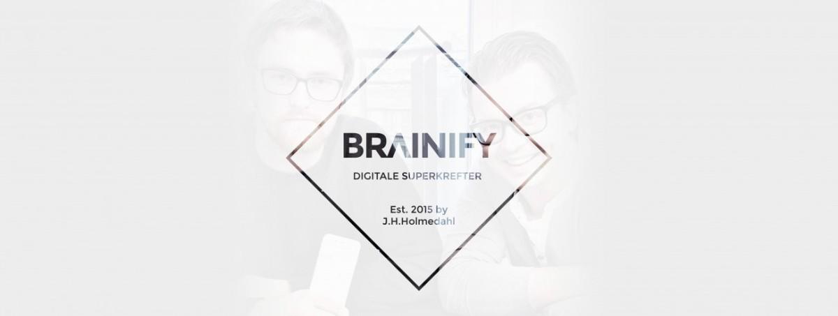 Ønsk velkommen: Brainify