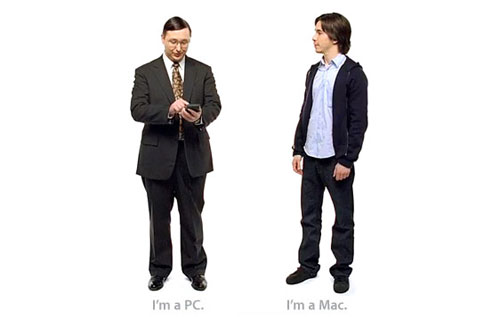 I'm a PC. And i'm a Mac